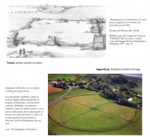 Viking Connection - Confronto tra antico recinto circolare di Gattatico (RE) e fortezza circolare vichinga di Trelleborg