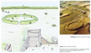 Viking Connection - confronto tra antico recinto circolare di Gattatico che ha ispirato il romanzo e fortezza circolare vichinga di Trelleborg