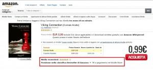 Viking Connection è tra i primi 800 bestseller nella classifica generale di Amazon