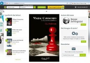 Viking Connection è da oltre un mese il romanzo preferito dai lettori di Cubolibri.it