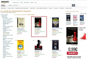 Viking connection ancora tra le prime 100 novità più interessanti della categoria Gialli e Thriller di Amazon