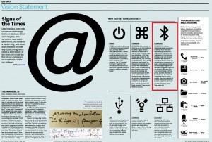 """Estratto dall'articolo della Harvard Business Review """"Signs of the times"""" (maggio 2014)"""