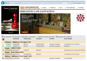 OPAC Servizi Bibliotecari della Provincia di Reggio Emilia