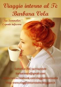 Barbara Vola di Viaggio intorno al Tè