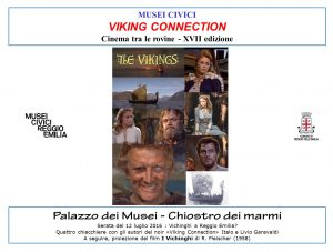 Presentazione Viking Connection