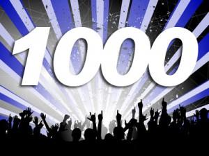 Festa 1000 like Facebook