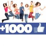 1000 like Facebook